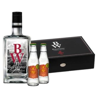 Estuche Regalo Bayswater Gin + 2 Indi&Co Organic Tonic Water