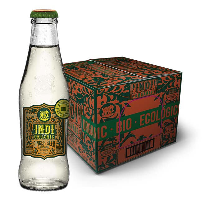 Indi&Co Organic Ginger Beer 24