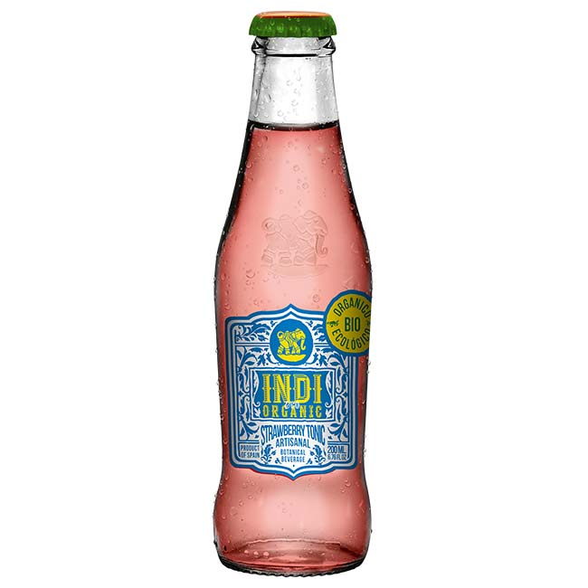 Indi&Co Organic Strawberry Tonic