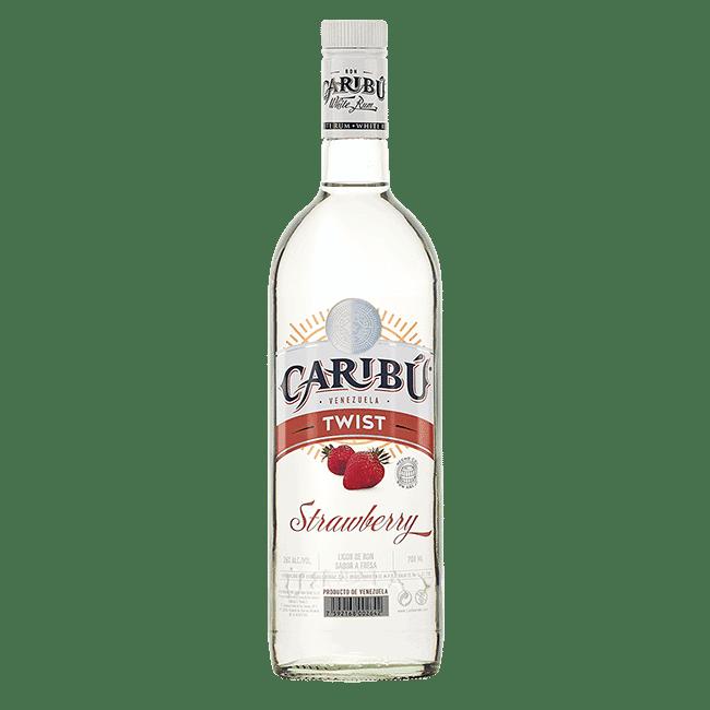 Caribú - Licor de Ron Strawberry